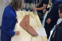 Conception et installation du harnais électrique sur l'aile volante