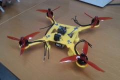 Conception, production et réalisation d'un drone opérant du CND