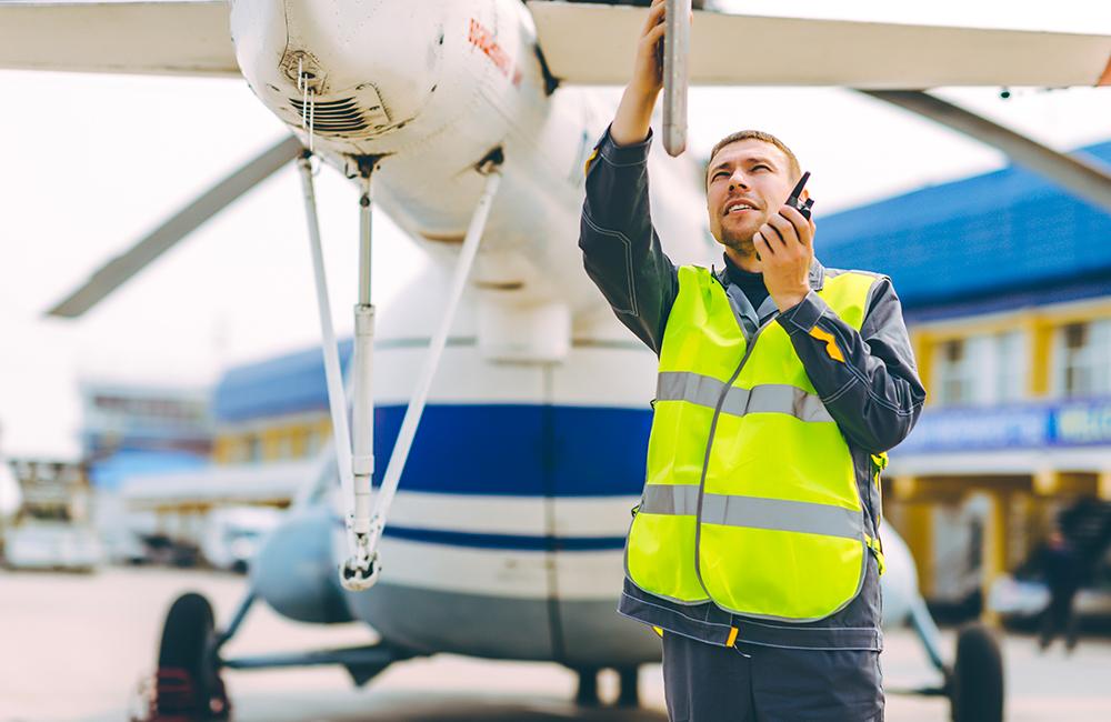 Technicien d'essais sol sur avion ou hélicoptère